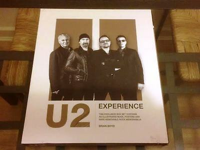 U2: Experience exclusive factory sealed box set inc' book, posters & memorabilia