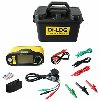 Di-Log DL9118 Multifunction Installation Tester Calibrated w/ accessories & case