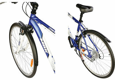 Zefal Trail City / Hybrid 700c Wheel Front and Rear Mud Guard Set