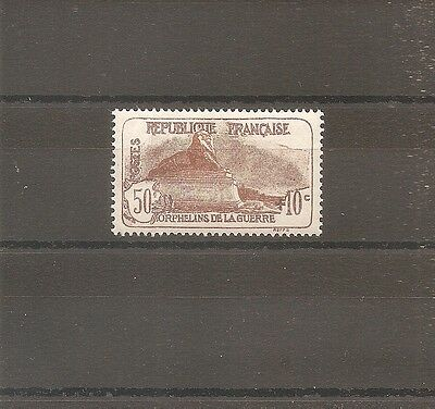 Timbre France Frankreich Orphelins 1926 N°230 Neuf* Mh Cote 25 Euros