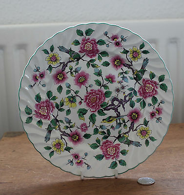 Old Foley : James Kent : Chinese Rose Tea Plate