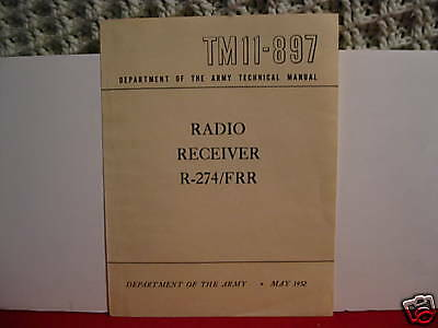 Manual Reprint For Hallicrafters SX-73  R-274 Receiver SX73  Over 100 Pages