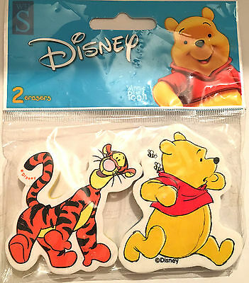 Winnie the Pooh erasers rubbers