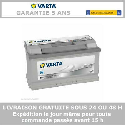 Batterie voiture Silver Dynamic Varta H3 12V 100AH 830A 600402083 353X175X190mm