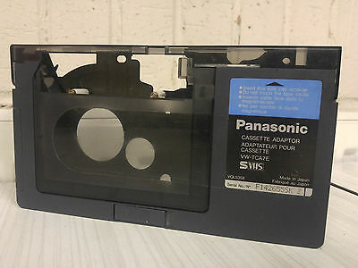 PANASONIC  VW-TCA7E Cassette Adaptor VHS-C/S-VHS-C to VHS Adapter svhs