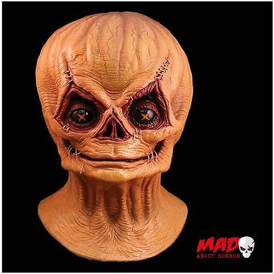 Official TRICK R TREAT SAM BURLAP Unmasked Latex Mask Halloween Horror Film