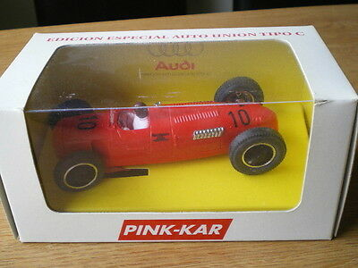 Pink Kar RARE AUTO UNION ( RED ) Type C 1999 SPECIAL EDITION No 181 of 184
