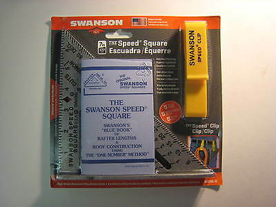 "The SPEED SQUARE!  7"" by Swanson!!!  Brand New!  Ships Fast!"