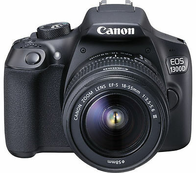 Canon EOS 1300D SLR & EF-S 18-55 DC III LENS. BRAND NEW WITH WARRANTY.
