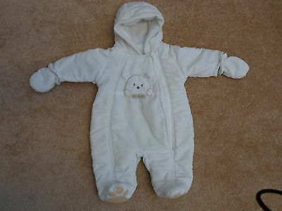 Baby winter overalls with gloves Mothercare new baby