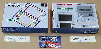 NEW Nintendo 3DS LL Super Famicom Edition System Console Japan Brand NEW UK Ship