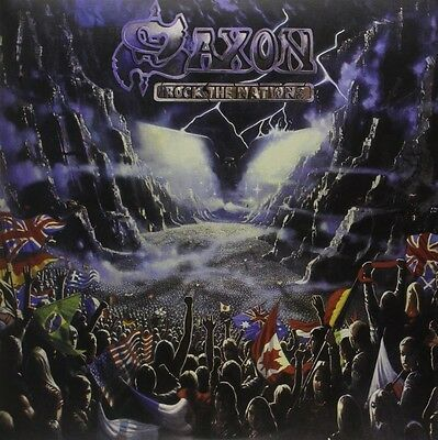 SAXON – ROCK THE NATIONS Limited Edition 2x 180G Coloured Vinyl LP (NEW/SEALED)
