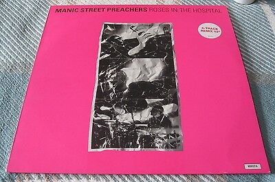 The Manic Street Preachers - Roses In The Hospital - Scarce 12 Inch Vinyl Single