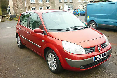 2005 Renault Scenic Dynamique Dci 120 Red Diesel