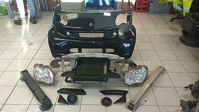 2007 Smart Fortwo BRABUS front end assembly genuine brabus panels lamps trims