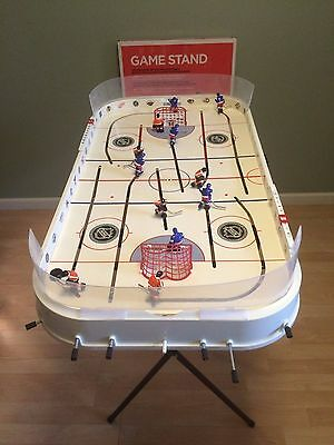 STIGA Stanley Cup HOCKEY Game Adjustable STAND 2 Hand-Painted NHL Teams NEW!