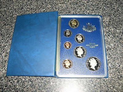 Royal Australian Mint 1987 and 1988 proof coin sets