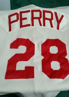 Perry Game Jersey...The Braves