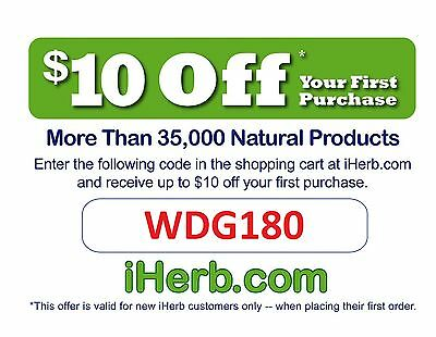 iHerb Promo Code 10% Off First Order Coupon