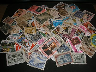 100 Timbres Amerique Latines Obliteres N° 228