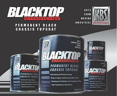 KBS Coatings BlackTop - Gloss Black - 8 oz - 100% UV Stable Chassis Top Coat