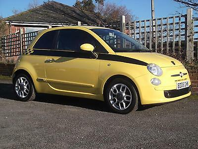 2008 FIAT 500 1.2 Sport Leather usb.