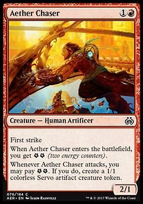 4x INSEGUITORE D'ETERE - AETHER CHASER Magic AER Mint