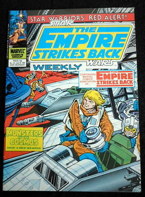 Star Wars weekly marvel comic The empire strikes back    number  122   25-6-1980