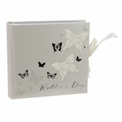 """Wings Of Love Butterfly Wedding Day Photo Album 80 6 x 4 """" Photos"""