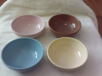 Vintage Bowl Set By Russel Wright, Iroquios