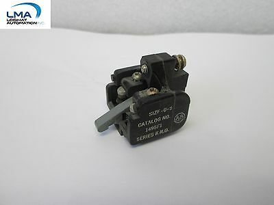 Allen Bradley 1495-F1 Auxiliary Contact Series K N.o. Size 0-5