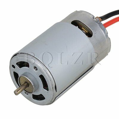 RC 1:10 Hign Speed Model Car RS550 Turn Brushed Electric Engine Motor Silver