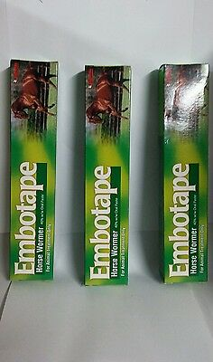 Embotape Horse And Pony Wormer X3