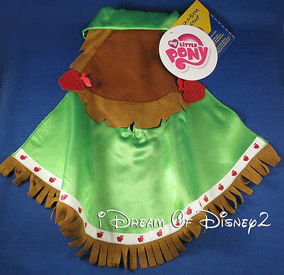 Build-A-Bear My Little Pony Applejack Green Western Cape Clothes Costume New