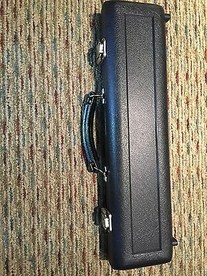 MTS #809E  DLR C Foot Replacement Flute Case- Plush Lining Burgandy