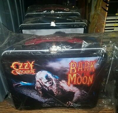 Ozzy Osbourne Bark At The Moon lunch box