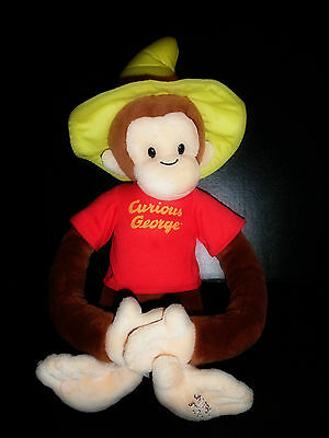 Universal Studios CURIOUS GEORGE Plush Toy (19 INCHES)