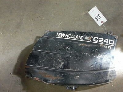 (2) New Holland left side panels & screen (DK) Tag #329
