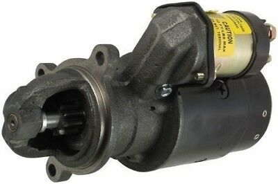 New USA Built Starter 9 Tooth 12 Volt Clockwise Fits Lister-Petter Tractor