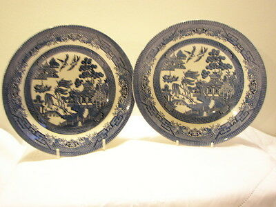 "Churchill  Willow  Dishes  8""  Soup/Cereal"