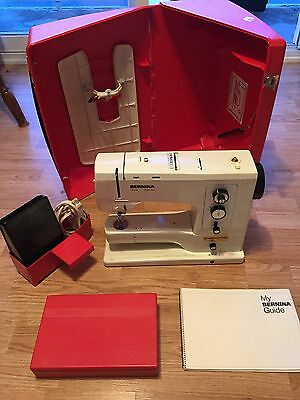 Bernina 830 Record Electronic Sewing Machine w/ Pedal, Case & Accessories Nice!!