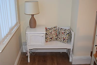 Shabby Chic Vintage Telephone Table Upcycle