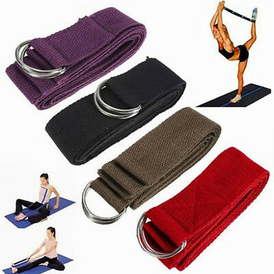 Exercise Belt Strap Yoga Waist For Sport Tools Strap Stretch Fitness Yoga