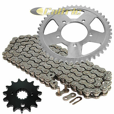 Caltric Black O-Ring Drive Chain /& Sprockets Kit for Suzuki Gsx600F Gsx-600F Katana 600 2000-2006