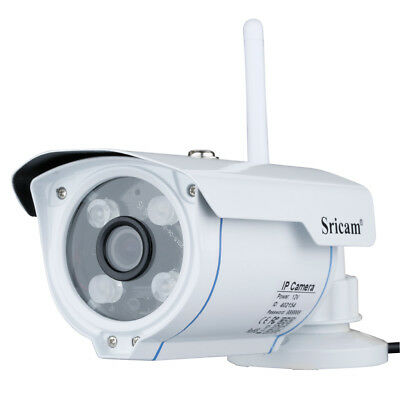 Sricam 720P IP Camera H.264 Wifi Wireless ONVIF CCTV Security TF Slot Telecamere