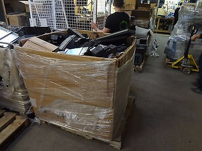 Pallet / Gaylord FULL of untested - unsorted - as is - small electronic items }