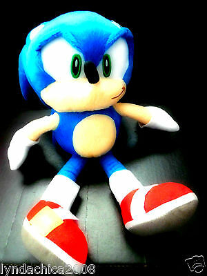 Sonic the Hedgehog SONIC PLUSH TOY (14 INCHES) ***Brand new with Tags***