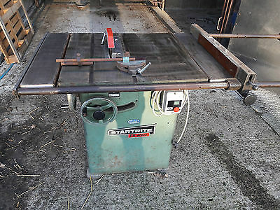 Startrite Saw ** DELIVERY Available ** Single phase table panel saw