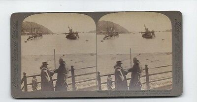 Distant Transports Sunkin Harbord Entrance And Russian Ships Wrecked, Japan