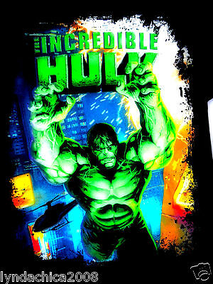 THE INCREDIBLE HULK Shirt by Marvel Comics (Size Large)